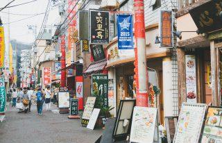 中華街を食べ歩きデート