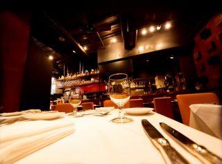 オシャレな雰囲気のレストラン