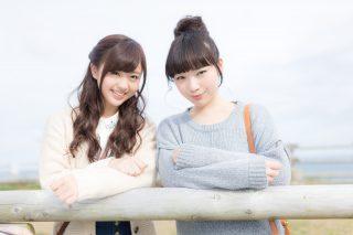 可愛い女の子二人組